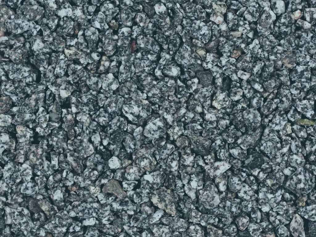 Granitsplitt grau