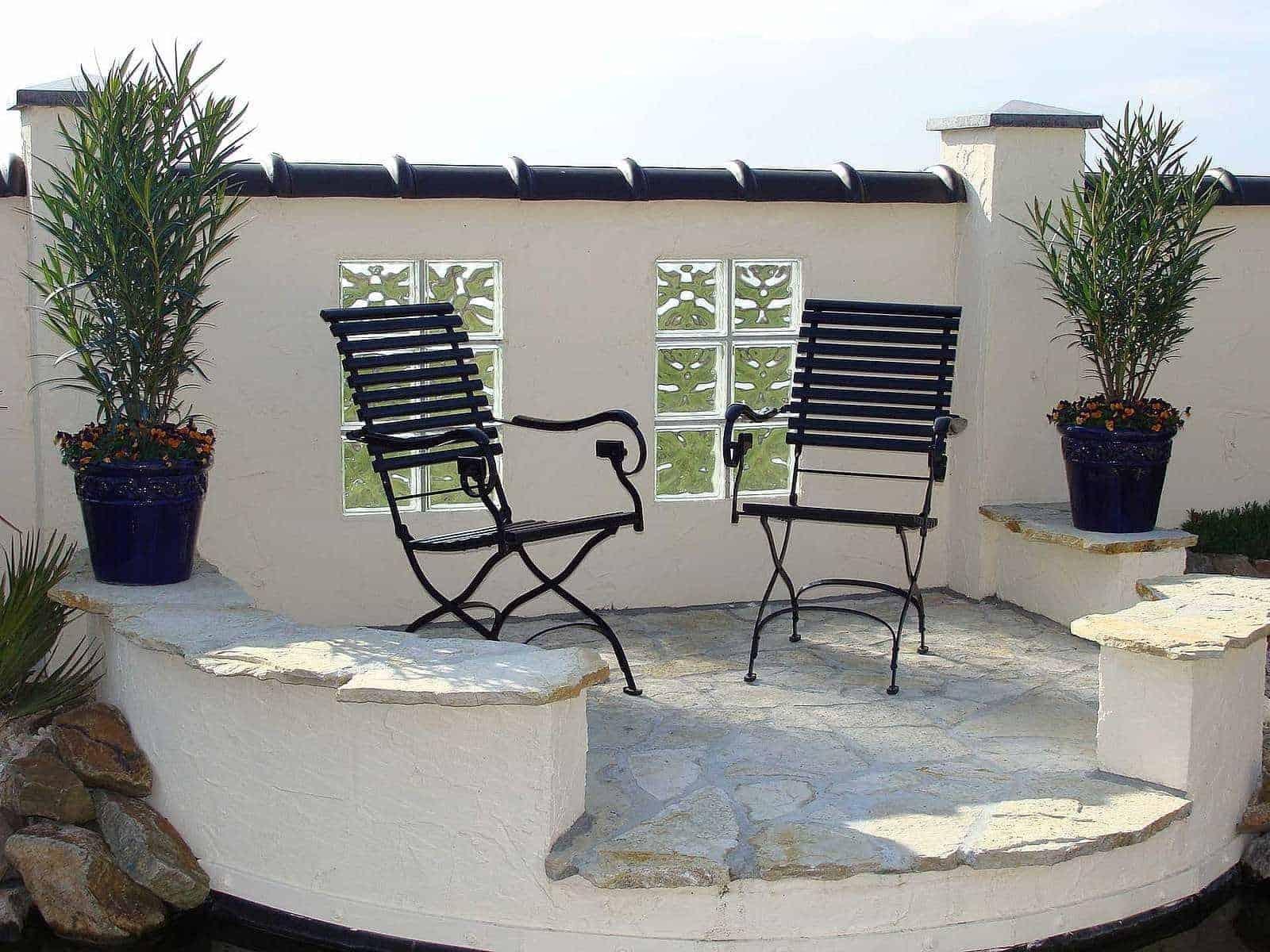 Terrassenplatten Polygonalplatten Bourgogne