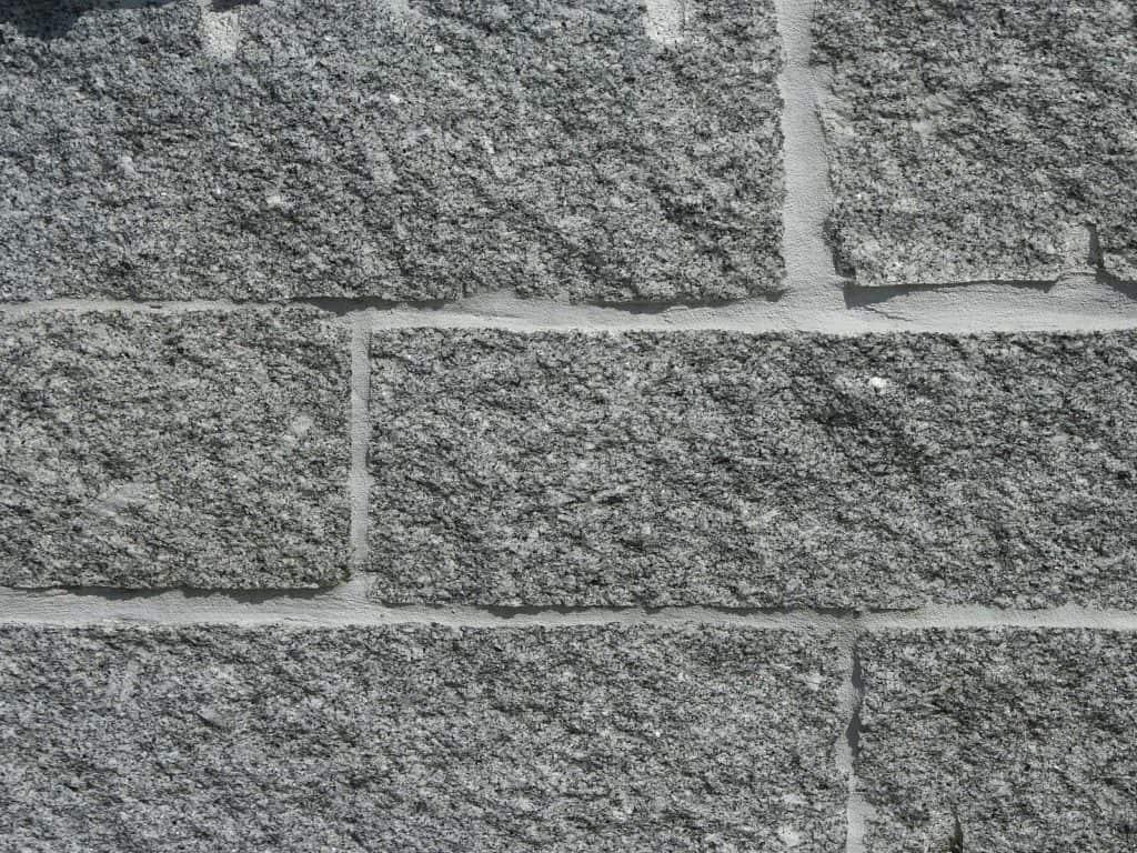 Steinmauer Granit grau