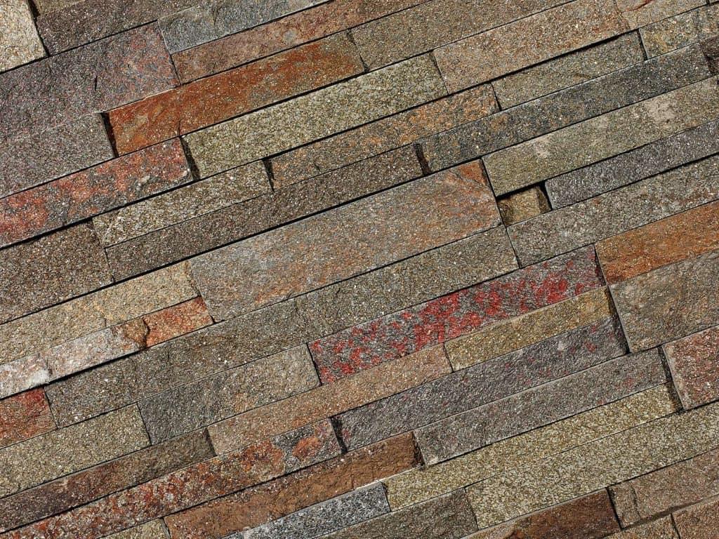 Naturstein Verblender Rusty Quarzit