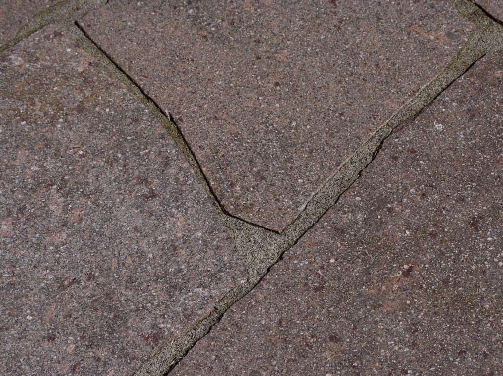 Bruchsteinplatte Porphyr