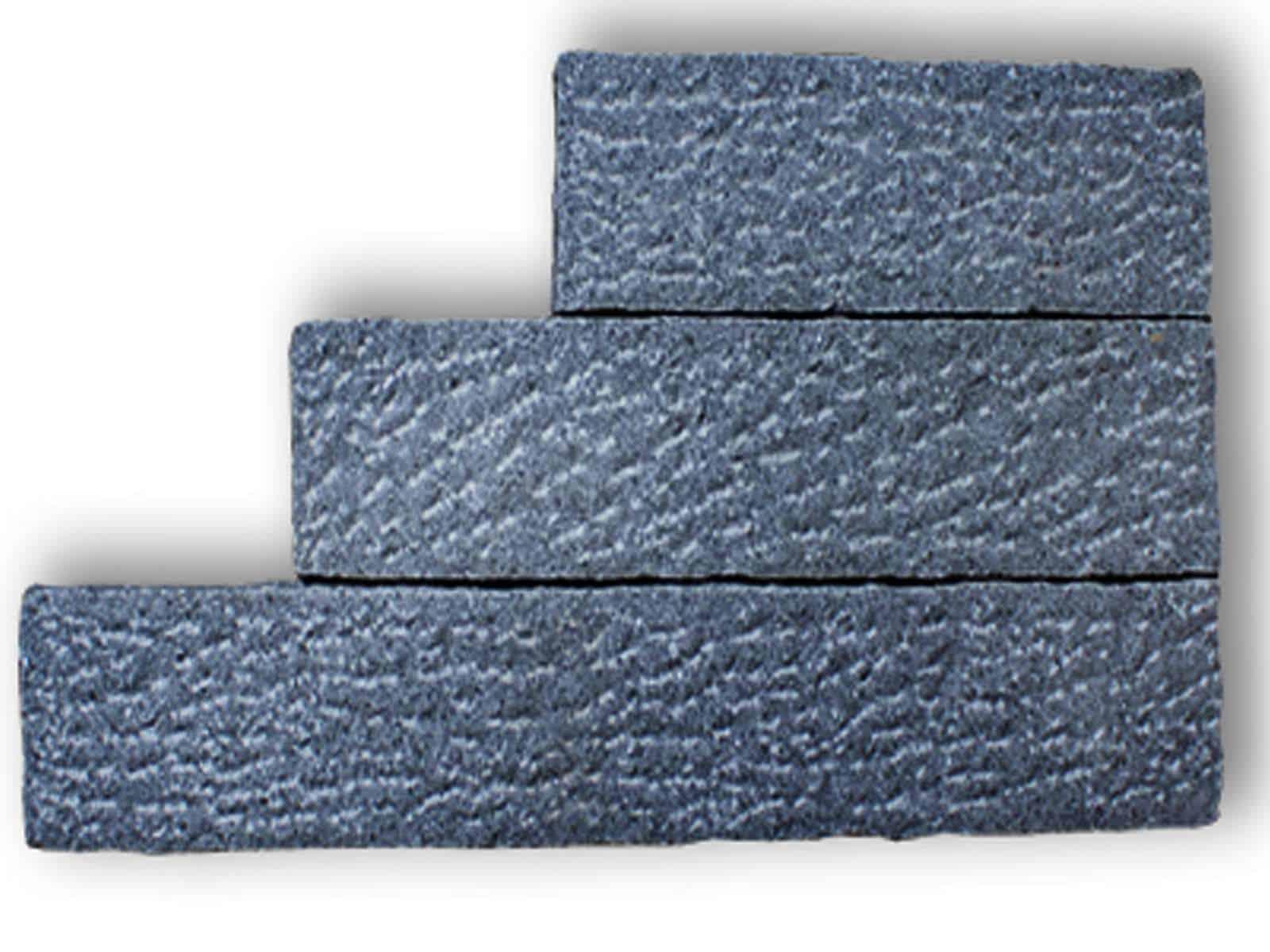 Randstein Granit Kristall antrazit