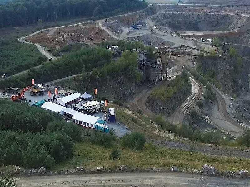 Steinbruchfeier Event