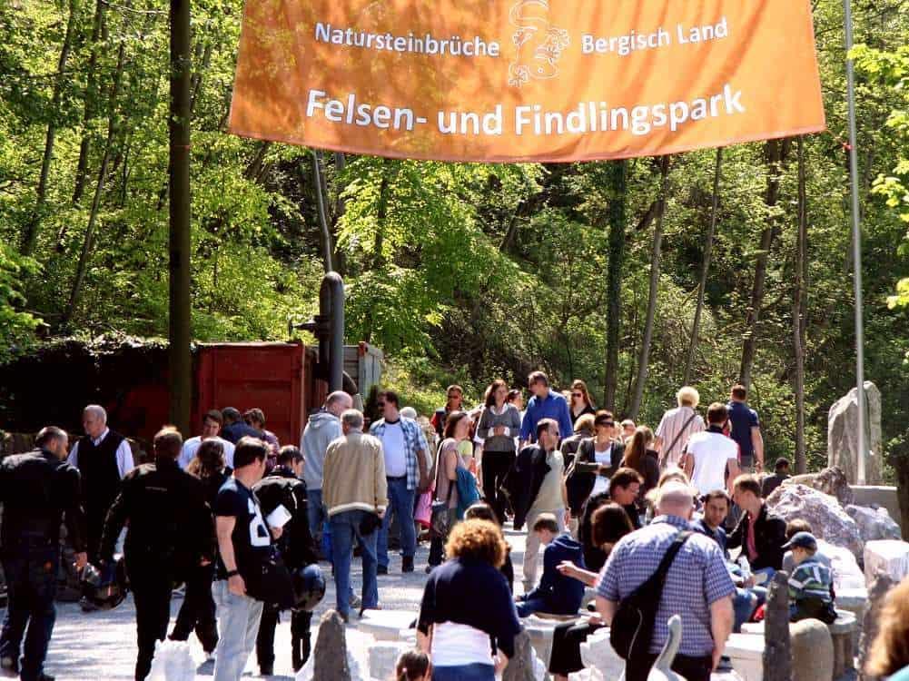 Eröffnung des Felsen- und Findlingspark
