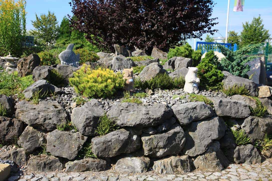 Bild aus einem Teil der Gartenausstllung unserer Schwesterfirma BioTopic im Kreis Recklinghausen.
