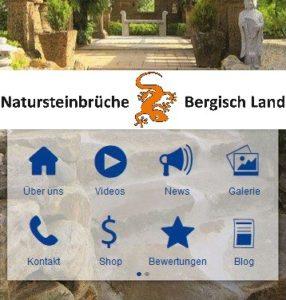 Natursteinbrüche Handy App