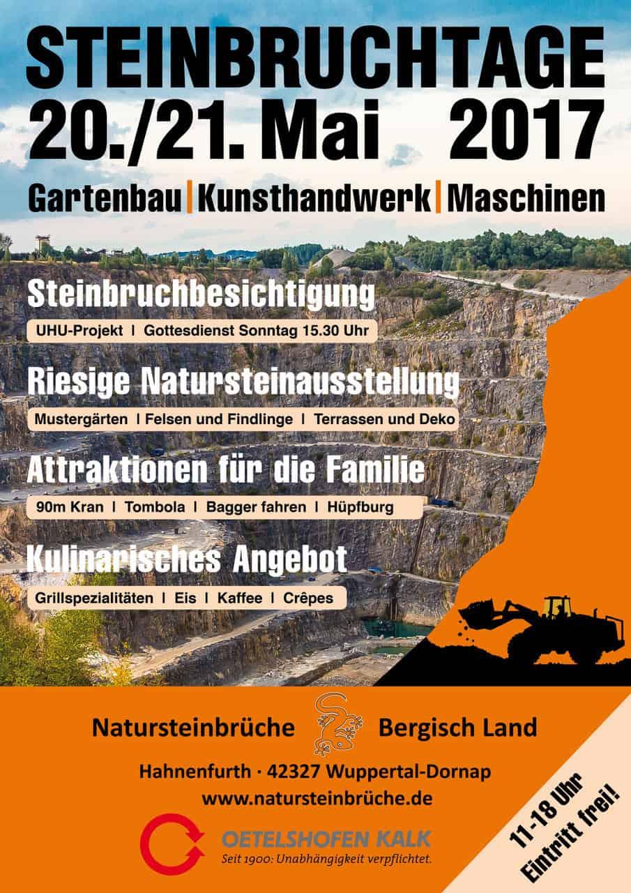 Das offizielle Steinbruchtage Plakat